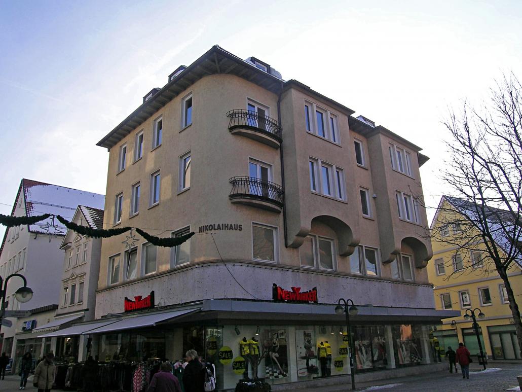 Wohn- und Geschäftshaus ca. 1.100 m² Wohn-/Nutzfläche