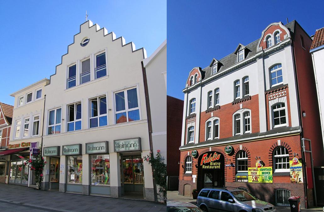 Zwei Wohn- und Geschäftshäuser ca. 1.200 m² Wohn-/Nutzfläche